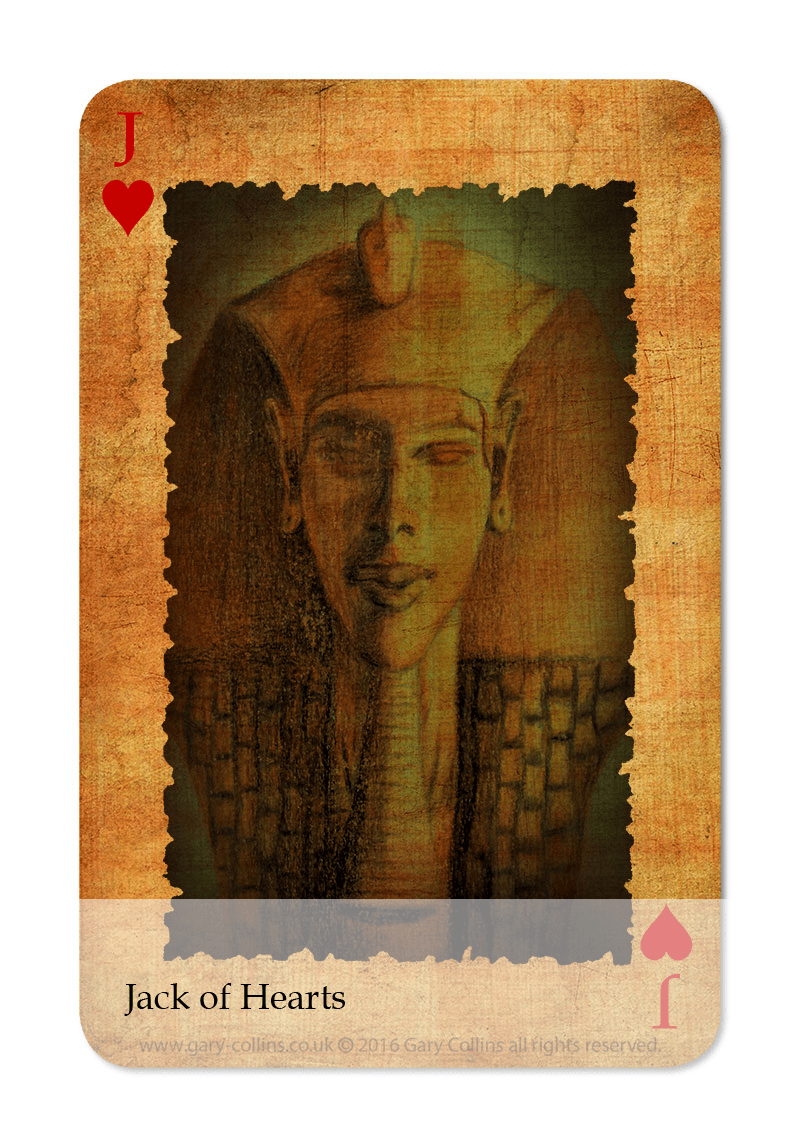 Egyptian Jack Card